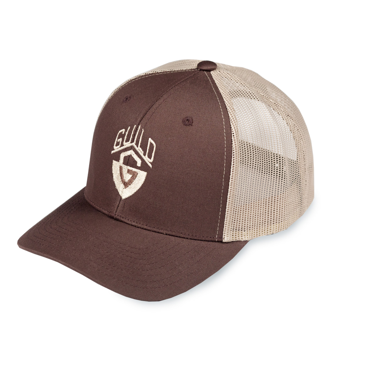 Trucker Hat in Khaki  5fafd5df908